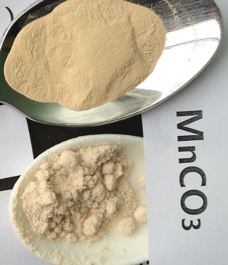 Dry MnCO3 Manganese Carbonate Powder , Industry Grade Common Magnetic Materials