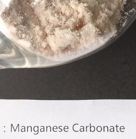 Wet / Dry Manganese Carbonate Powderelectronic Grade Mn HS Code 28369990
