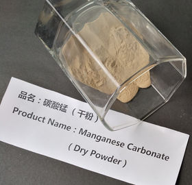 Wet / Dry Manganese Carbonate Powder , 43.5% Purity MnCO3 Permanent Magnet Materials