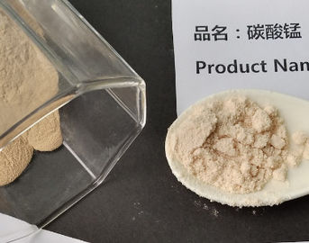 China Manganous Carbonate Electrolyte Material , Manganese Carbonate Solid Powder MSDS COA TDS factory