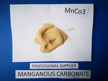 China Industrial Grade Manganese Carbonate Powder , MnCO3 3 Magnetic Metals factory